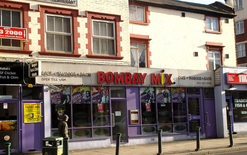 Bombay Mix in Balti Triangle, Birmingham, UK