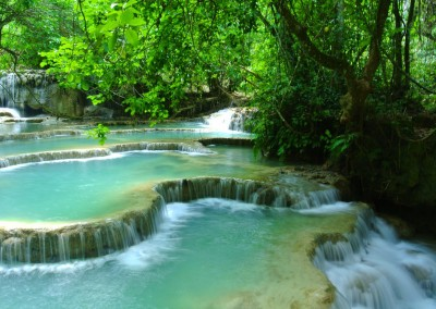 Luang Prabang waterfall, Laos