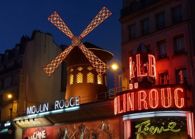 Moulin Rouge, Montmatre, Paris
