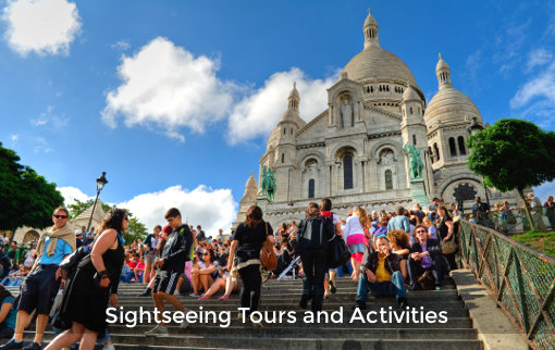 Find sightseeing tours and activities