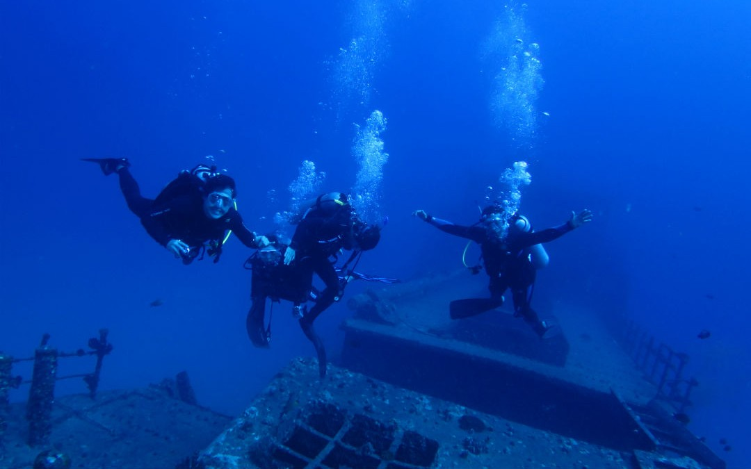 Top 5 Diving Travel Destinations Overseas