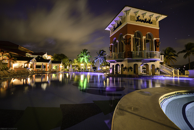 """Sandals Grande St Lucia Pool"" by Freaktography"