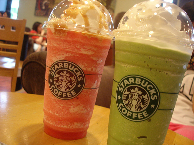Colorful Frappuccino by Pessimist