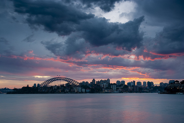 """Sunset from Cremorne Point"" by Steve Arnold"