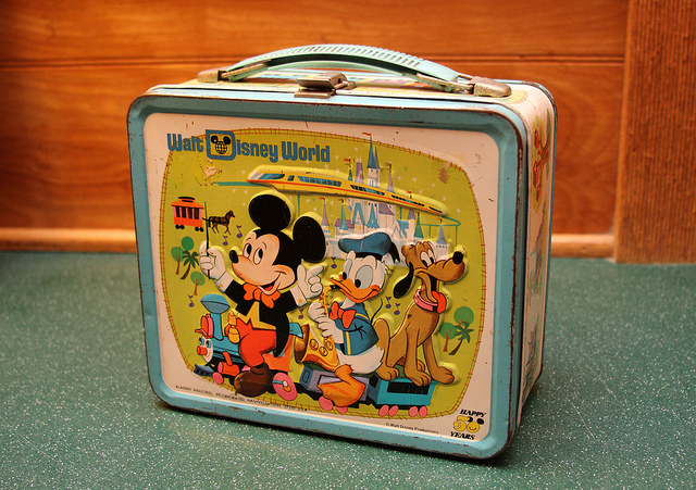 Disney Lunch Box by Sam Howzit