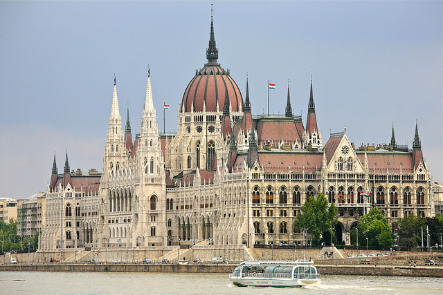 """""""Hungarian House of Parliament"""" by Alex Proimos"""