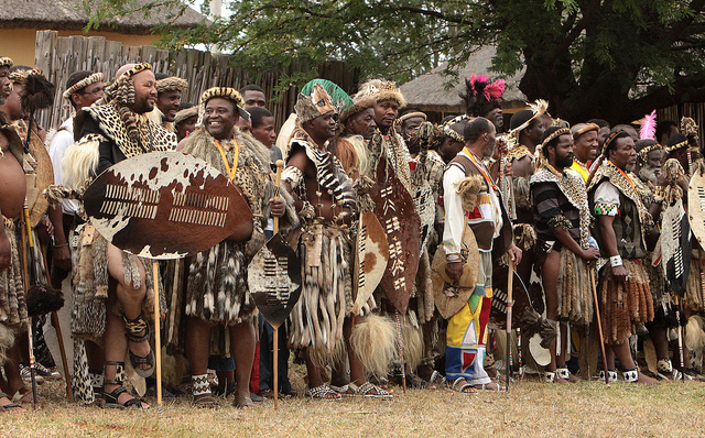 """Zulu reed dance ceremony"" by Retlaw Snellac Photograp"