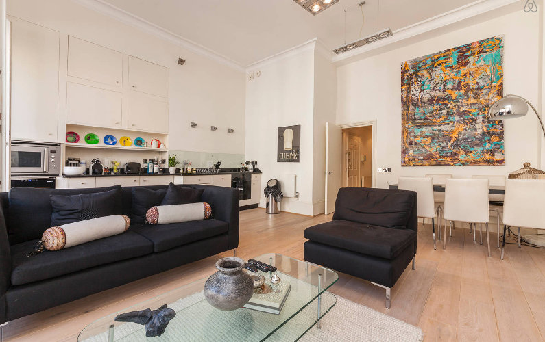 Posh Living Experience in London: Rent an Apartment in Kensington Central