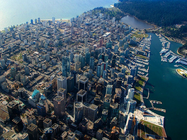 A Bursting City (Vancouver) by Evan Leeson