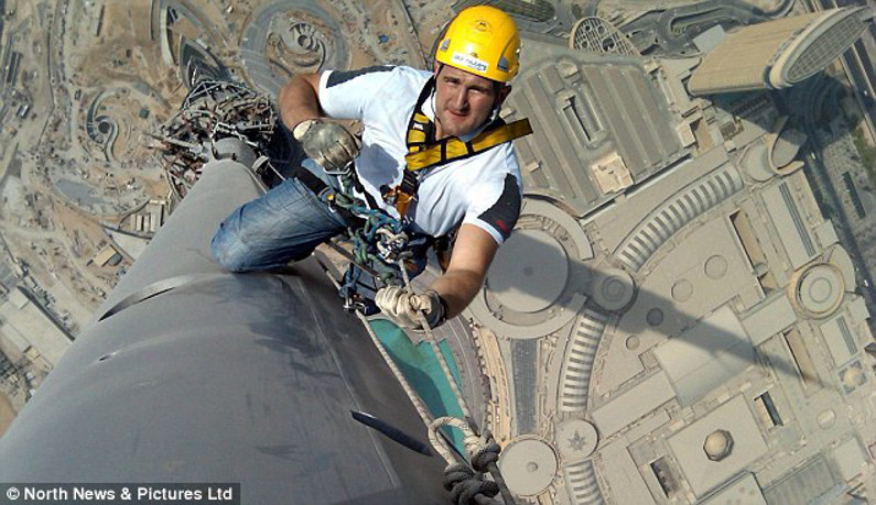 Burj Khalifa cleaner