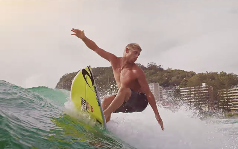 Drop into the waves with some of the world's top pro surfers in Air New Zealand's latest safety video