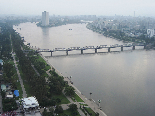 Taedong River, North Korea