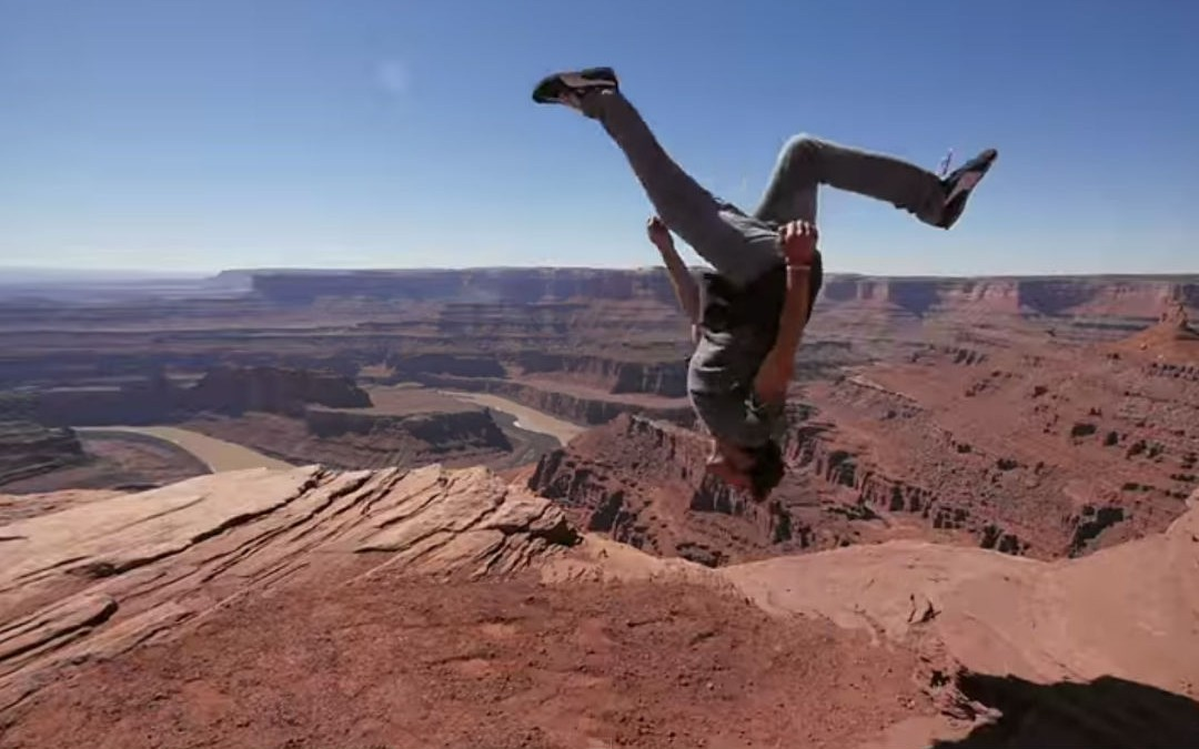 Parkour + Travel = Pure Win!