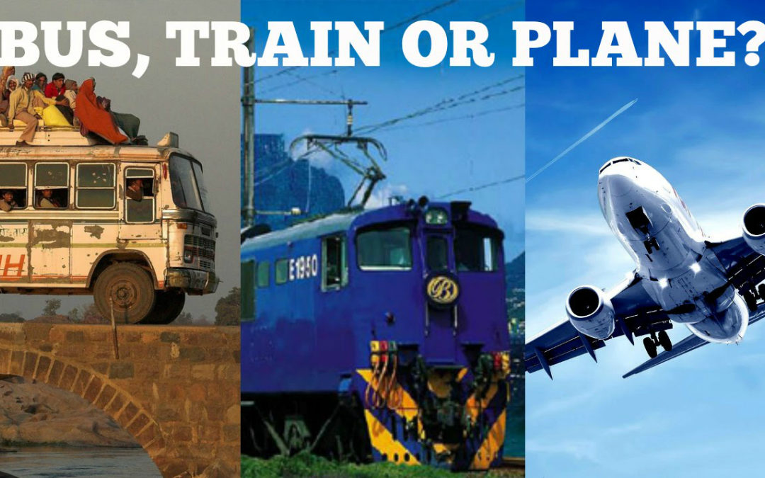 Planes, Trains, or Bus-a-Mobiles: Which is Really Faster?